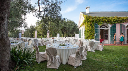 Empfänge in der Villa Imperia