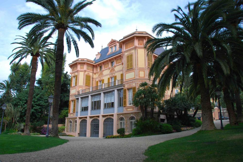 Eine Hochzeit in einer Villa in San Remo